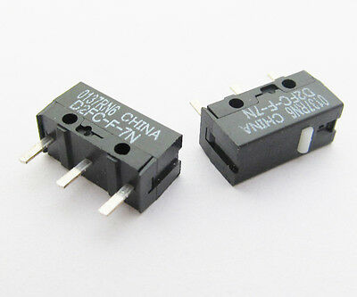3 pcs OMRON D2FC-F-7N Micro Mini Switch Microswitch for Mouse