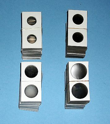 ONE THOUSAND (1000) Assorted 1.5X1.5 Cardboard Coin Holders Flips-1 1/2 X 1 1/2