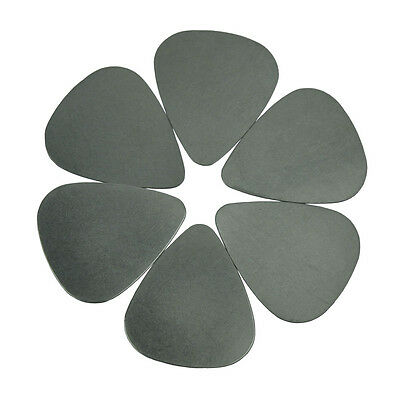 Lots of 24 pcs New 0.3mm Stainless Steel guitar picks No Printing