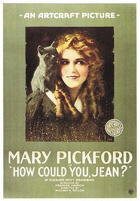 Mary Pickford How could you, Jean? 1918 movie poster print
