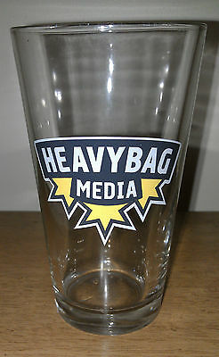Heavybag Media Beer New collectible beer glass Heavy Bag