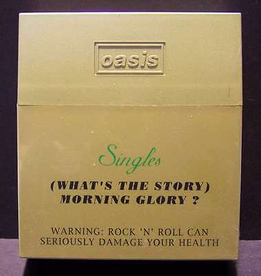 OASIS- Morning Glory? - Box Set Singles 4cds+1 intervista+1 book Completo MINT
