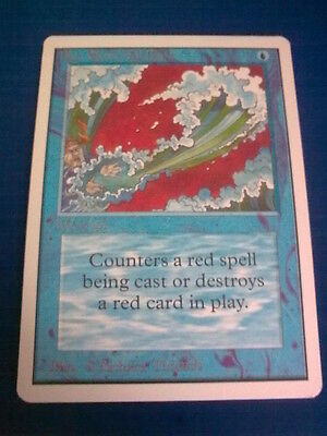 carte magic the gathering - blue elemental blast - edition unlimited commune