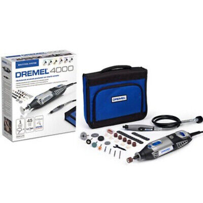 DREMEL Multi Power Tool 4000-45 Drill Flexi Shaft 45 Accessories Rotary Kit
