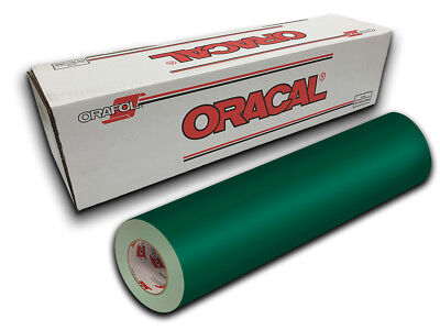 """24"""" X 10ft - Forest Green Oracal 651 Intermediate Graphic & Sign Cutting Vinyl"""