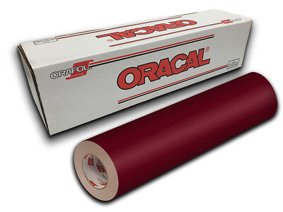 """24"""" X 10ft - Purple Red Oracal 651 Intermediate Graphic & Sign Cutting Vinyl"""