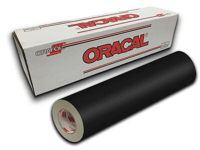 "24"" X 10yd - Black Matte Oracal 651 Intermediate Graphic & Sign Cutting Vinyl"