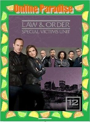 LAW&AND ORDER SVU(Special Victims Unit)Season 12 DVD-NEW