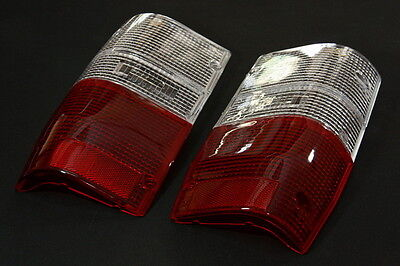 Tail Light Lenses Clear-Red Lens For Mitsubishi Mighty Max 1987-1996 Dodge D-50