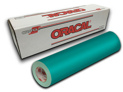 """24"""" X 4ft - Turquoise Oracal 651 Intermediate Graphic & Sign Cutting Vinyl"""