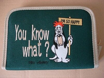 "Plumier Tex Avery : Droopy ""You know what ?"" (Vert)"