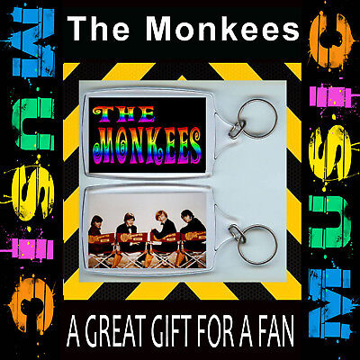 The MONKEES - The Monkeys KEYRING/KEY CHAIN 50 X35mm- CULT TV-GREAT GIFT FOR FAN