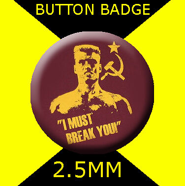 LARGE BADGE #CD811 TIM CURRY  58MM THE  ROCKY HORROR SHOW