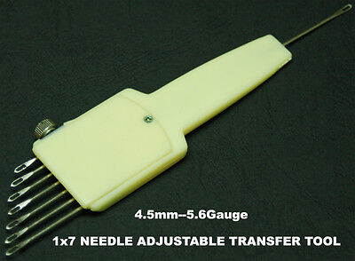 1X7 Adjustable Transfer Tool For Brother Singer Knitting Machine Accessories