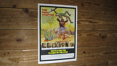 Battle for the Planet of the Apes Repro Film POSTER