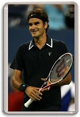 Roger Federer Tennis Fridge Magnet #1