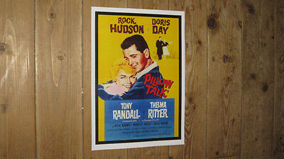 Pillow Talk Rock Hudson Doris Day Repro Film POSTER