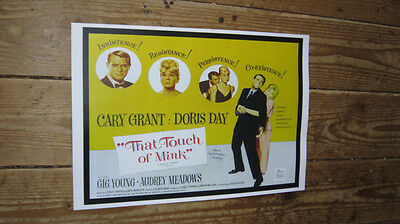 That Touch of Mink Doris Day Repro Film POSTER