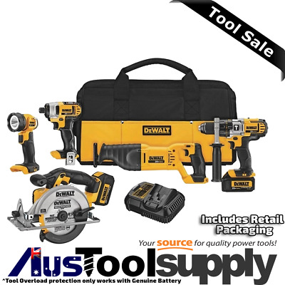 Dewalt Xr 20V Max / 18V Cordless Lithium Ion 5 Tool Combo Kit