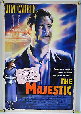 The Majestic Ds Rolled Orig 1Sh Jim Carrey, Martin Landau, Laurie Holden (2001)