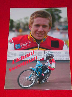 SPEEDWAY BOARD INSERT (165x240mm) - RICHARD SWEETMAN
