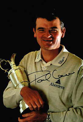 Paul Lawrie SIGNED Autograph Open Golf Champion 12x8 Photo AFTAL Authentic COA