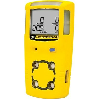 BW Technologies Gas AlertMicroClip XT Multi Gas Monitor MC2-XWHM-Y-NA Free Ship
