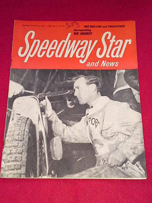 SPEEDWAY STAR AND NEWS - June 17 1966 Vol 15 # 14