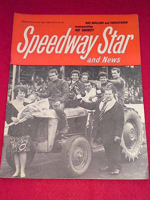 SPEEDWAY STAR AND NEWS - July 1 1966 Vol 15 # 16