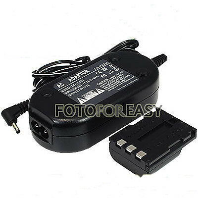 ACK-DC20 AC Adapter Charger CA-PS700 for Canon Camera G7 G9 S80 EOS 350D 400D XT