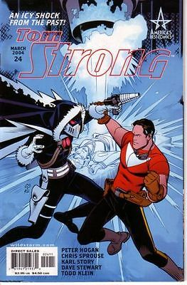 ➡ TOM STRONG 24 ➡ ABC 2004 ☆ VFine/NM ☰