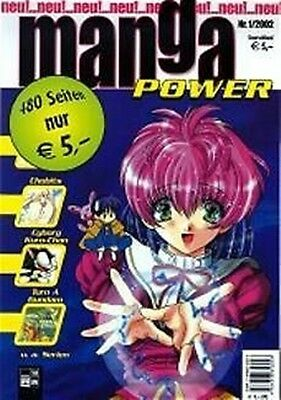 Manga Power Nr. 1 u.a Gunsmith Cats, Chobits, Turn A Gundam, Psychic Academy