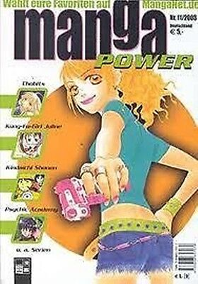 Manga Power Nr. 11 u.a Peach Girl, Chobits, Turn A Gundam, Psychic Academy