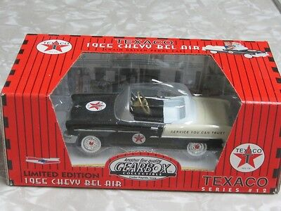 Gearbox Ltd Edition Black 1955 Chevy Belair Pedal Car Texaco Series NIB