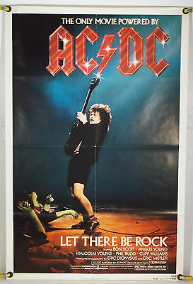 Ac/dc:  Let There Be Rock Ff Orig 1Sh Angus Young, Phil Rudd (1980)
