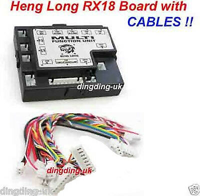 New heng long RX18  multi function box unit with leads ( cables )  UK