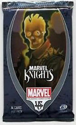 Dc Vs System Marvel Knights Booster Pack New Sealed