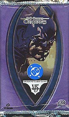 Dc Vs System Origins First Edition Booster Pack New Sealed