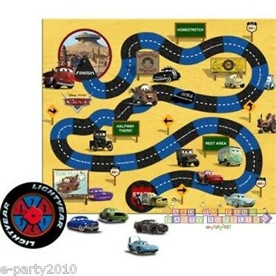 DISNEY PIXAR CARS PARTY GAME Birthday Supplies Decorations Activity Board