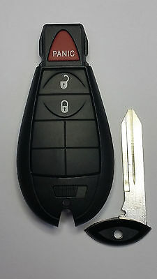 2009-2012 OEM RAM REMOTE KEYLESS ENTRY FOBIK SMARTKEY  with Uncut Blank