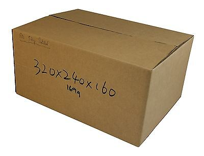 50 320x240x160mm Cardboard Boxes 5Kg Satchel mailing Carton boxes Mailing Boxs