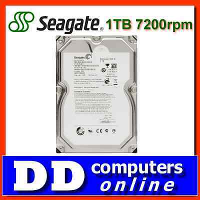 "Seagate Barracuda 1TB 7200rpm SATAIII 6GB/s 3.5"" HDD, ST1000DM010"