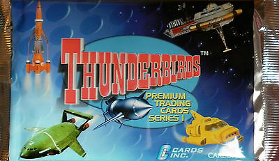 Thunderbirds Tv Seriers 1 Trading Cards Booster Pack