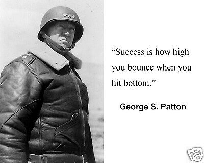 General George S. Patton World War 2 WWII Quote 8 x 10 Photo Picture #g2