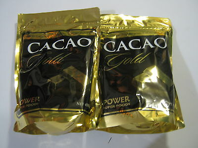 POWER SUPER FOODS 900g CACAO GOLD POWDER Mayan Superfood Organic  Raw Chocolate