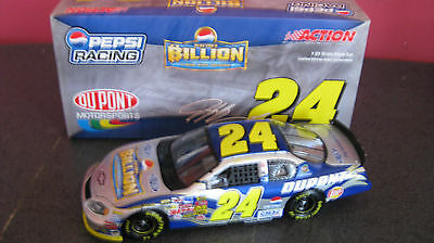 2004 Jeff Gordon 1/24 Dupont Pepsi Billion Dollar
