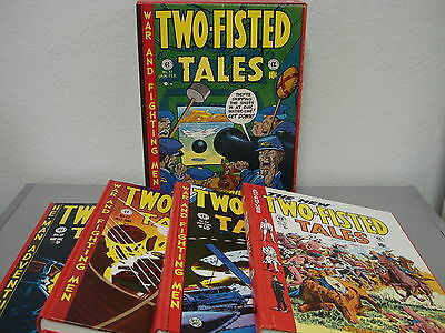 The Complete **two-Fisted Tales** 4 Volume Box Set