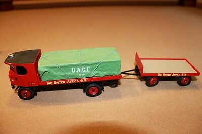 CORGI Vintage Glory of Steam Sentinel Platform Wagon & Trailer 80007 1:50