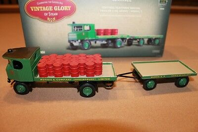 CORGI Vintage Glory of Steam Sentinel Platform Wagon & Trailer 80008 1:50