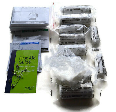 HSE 1-10 Persons Workplace Small REFILL First Aid Kit